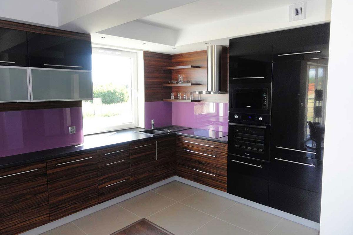 meble kuchenne z akcentem fioletu mobiliani bydgoszcz