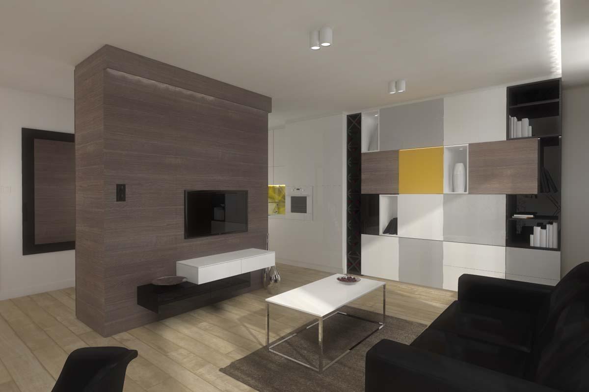 Projektowanie wnętrz mieszkania pokazowego przez architektów Mobiliani Design