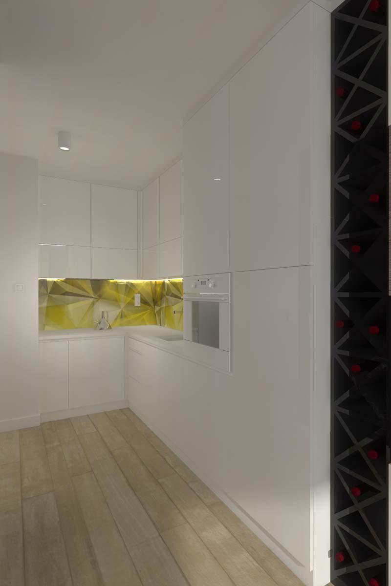 Projekt kuchni przygotowany przez projektanta Mobiliani Design