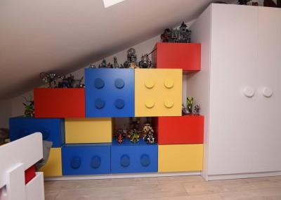Meble do pokoju 6-latka wg projektu