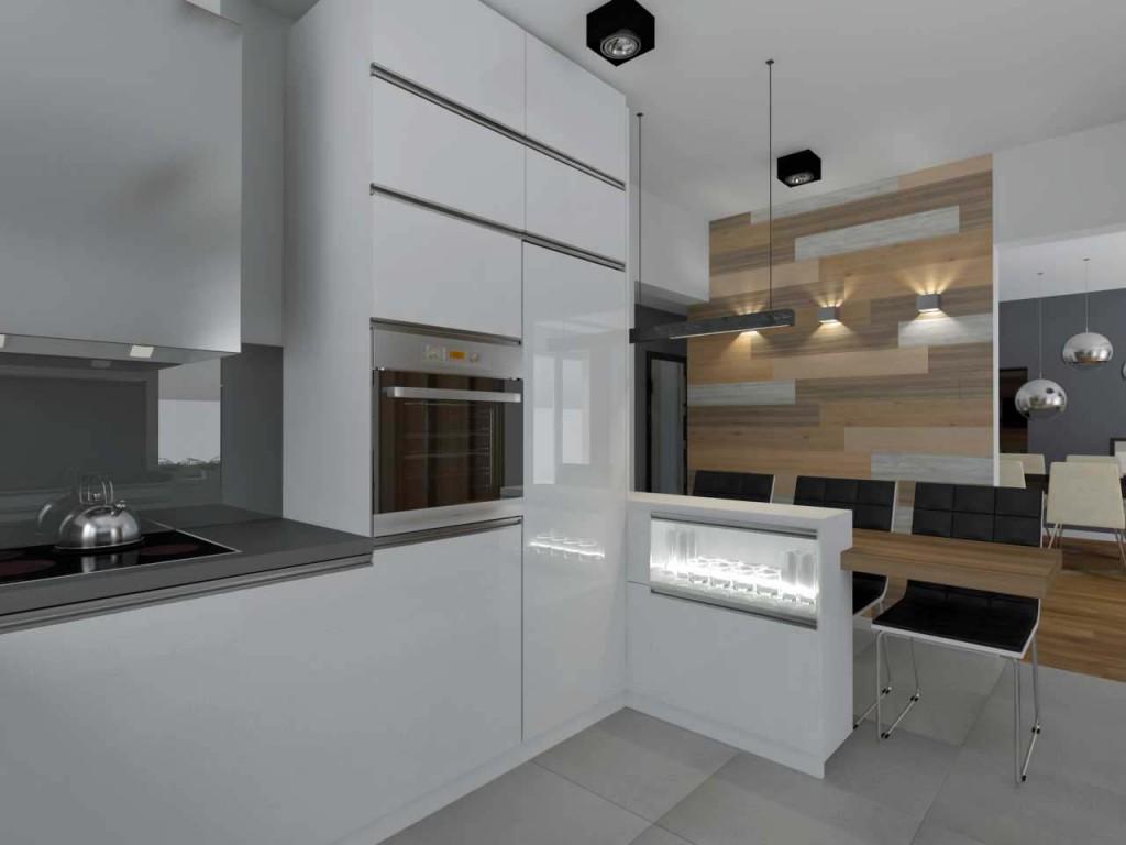 Kuchnia na zamówienie w projekcie wnętrza kuchni - meble Mobiliani, Bydgoszcz.
