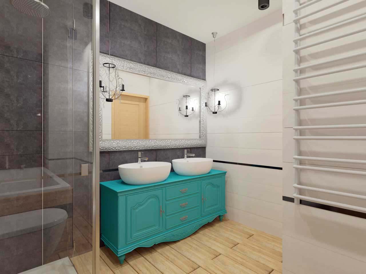 Projektowanie wnętrz - meble łazienkowe