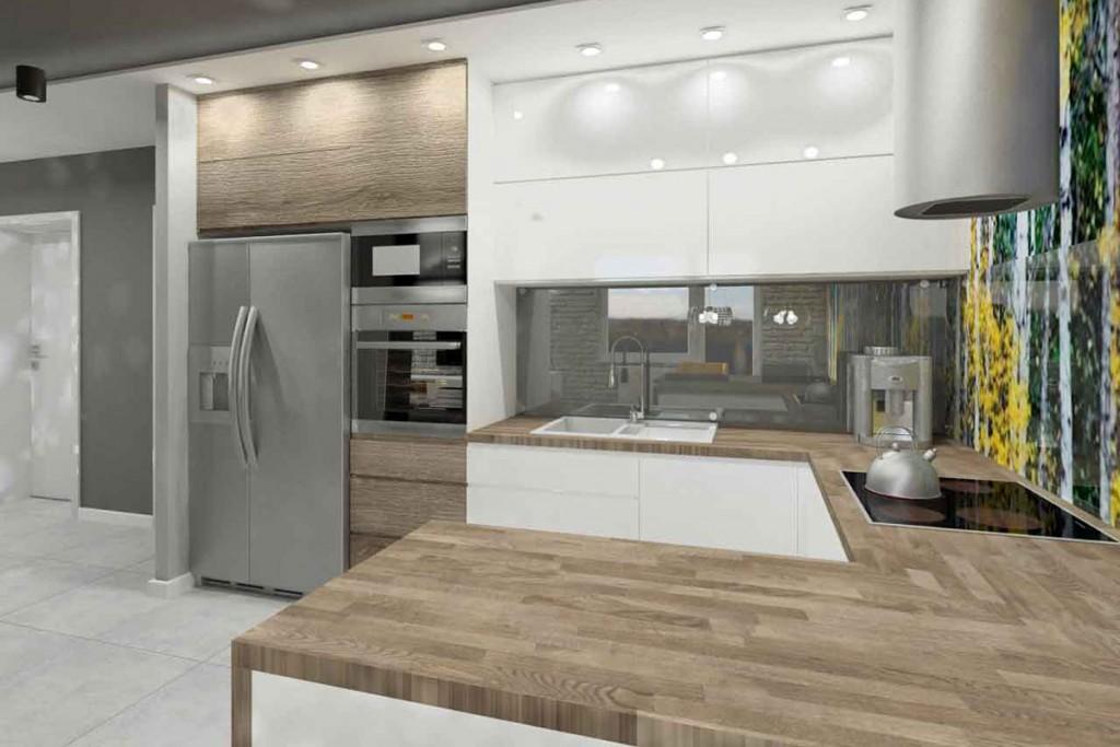Projekt wnętrza JLT Design z meblami na wymiar do kuchni od Mobiliani.