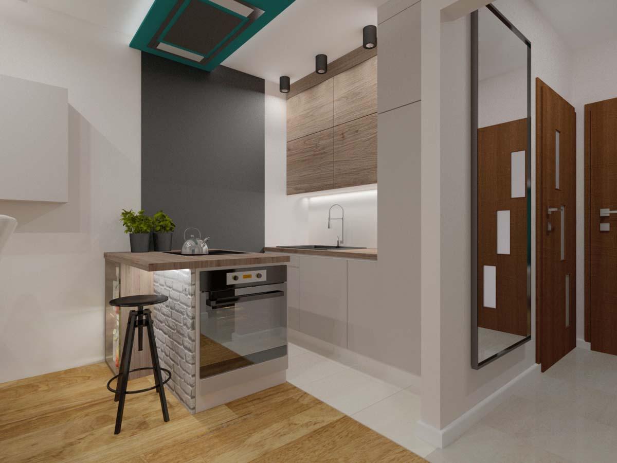 Kuchnia na wymiar dla kuchni w Bydgoskim domu - Mobiliani.
