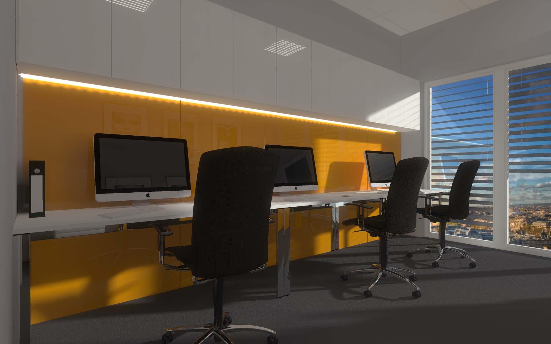 nowoczesne meble biurowe przygotowane na wymiar