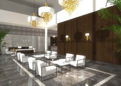 Meble na wymiar do wnętrz nowoczesnego hotelu
