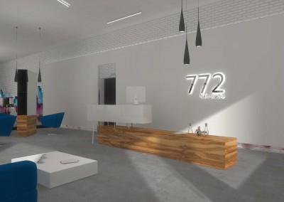 Meble na wymiar przygotowane dla Salonu Fryzjerskiego 772 w Bydgoszczy