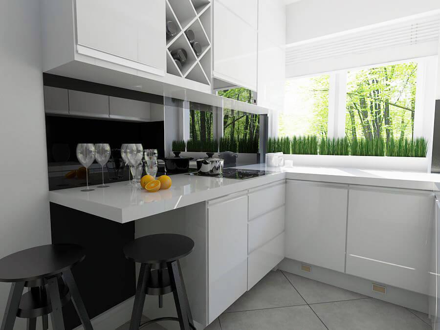 Projekt kuchni w stylu Wchite Chocolate - Mobiliani Bydgoszcz