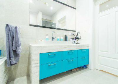 Meble łazienkowe dla domu w Ostromecku