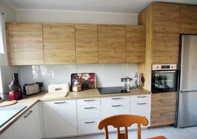 Kuchnia na wymiar dla domu jednorodzinnego